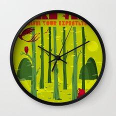 Dream Trees Wall Clock