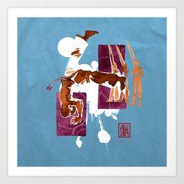 Capoeira 556 Art Print