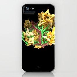 Yellow Stars iPhone Case