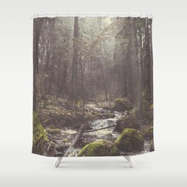 The paths we wander II Shower Curtain