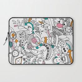 My Happy Doodle Laptop Sleeve