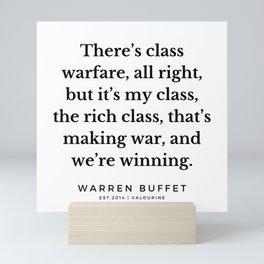 8     Warren Buffett Quotes   190823 Mini Art Print