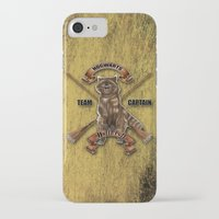 hufflepuff iPhone & iPod Cases featuring Hufflepuff  Hogwarts Team Captain by JanaProject