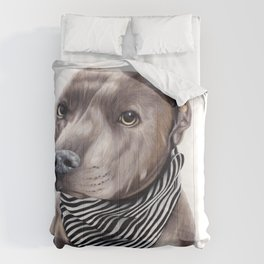 Blue Staffordshire Bull Terrier Comforters
