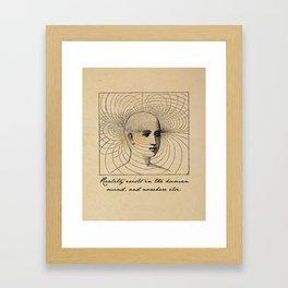 1984 - George Orwell - Reality Framed Art Print