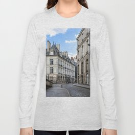Old town street of Rennes Long Sleeve T-shirt