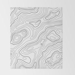 Intention #pattern #minimal Throw Blanket