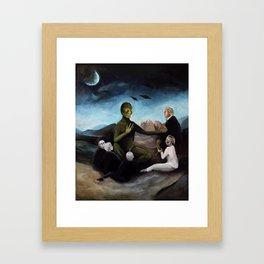 Modern Occultism Framed Art Print