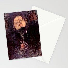 "Amedeo Modigliani ""Diego Rivera"" Stationery Cards"