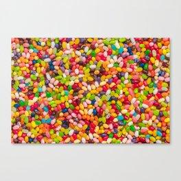 Gourmet Jelly Bean Pattern  Canvas Print