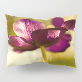 Glowing Purple Flower #decor #buyart #society6 Pillow Sham
