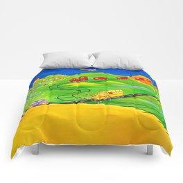 A Little Boy's Dream Comforters