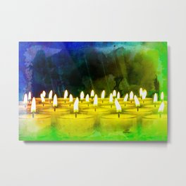 Candles in the wind VI Metal Print
