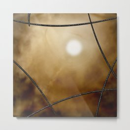 Glass Ceiling Metal Print