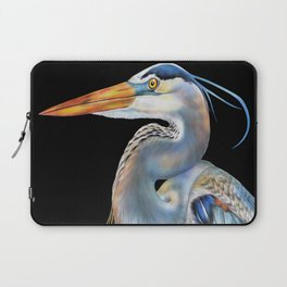 Great Blue Heron Laptop Sleeve