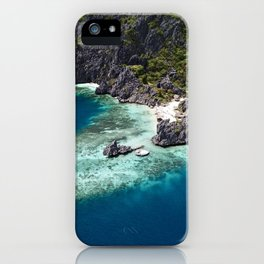 Island hopping around the Philippine Islands iPhone Case