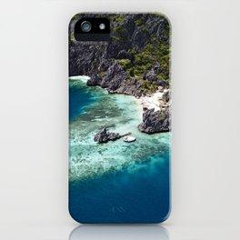 Island hopping around the Philippine Islands iPhone Case