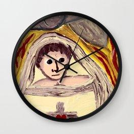 Baby Jesus Wall Clock