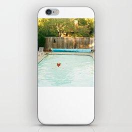 Pool Angel iPhone Skin