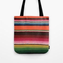 BEAUTIFUL MEXICAN SERAPE Tote Bag