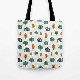 Colorful Winter Tote Bag