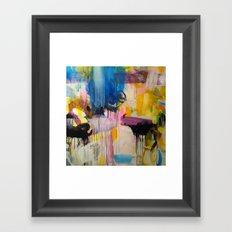 Eclectic starlight Framed Art Print