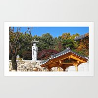 korea Art Prints featuring Seoul, Korea by Kimberly Vogel Travel Photographer