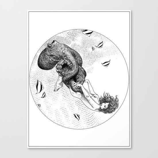 asc 438 - L'attachement pathologique (The stalking) Canvas Print