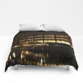 Arena Birmingham At Night Comforters