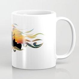 The Intimate Stranger (Greek Ship) Coffee Mug