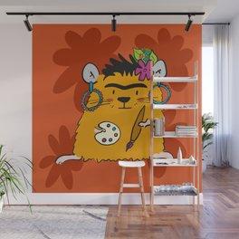 Hamster Frida Wall Mural