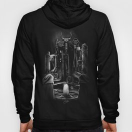 V. The Hierophant Tarot Card Illustration  Hoody