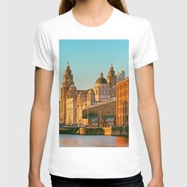 Pier Head and the Albert Dock T-shirt