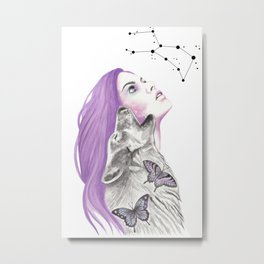 Written In The Stars Metal Print