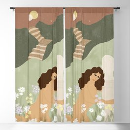 Dreaming of perfect man Blackout Curtain