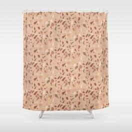 Terrazzo Piece Shower Curtain
