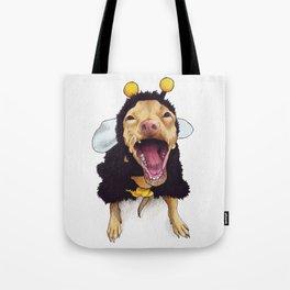 Chihuahua in bee costume - Tuna Tote Bag
