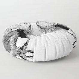 Iguanas (animals) Floor Pillow