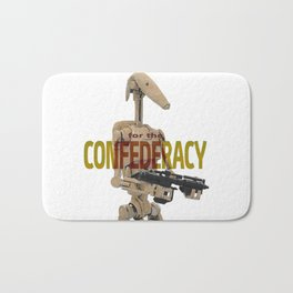 For the Confederacy Bath Mat
