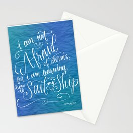 Sail My Ship Stationery Cards