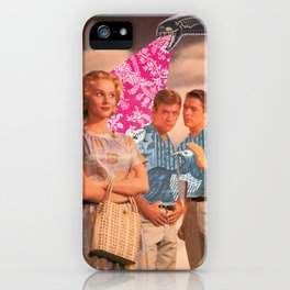Teen Thoughts iPhone Case