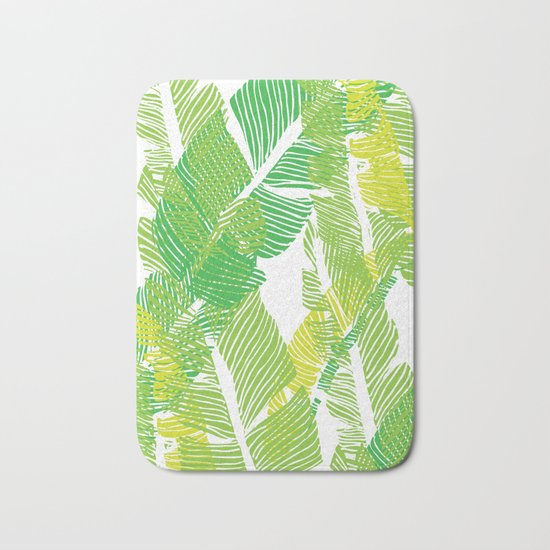 Carved Jungle #society6 #decor #buyart Bath Mat