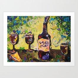 Lush Buffet Art Print