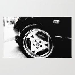 Aero Wheel, Saab 9-5 Rug