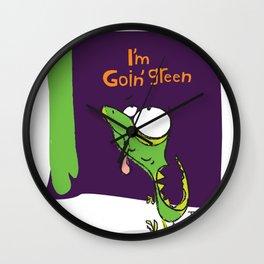 Goin' Green Wall Clock