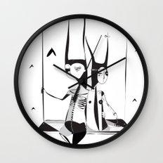 Logic loco - Emilie Record Wall Clock