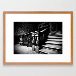 Come, follow me Framed Art Print