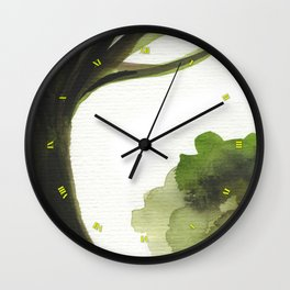 Emerald Tree Wall Clock