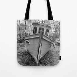 Abandoned Fishing Boats Tote Bag