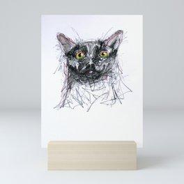 Scaredy-cat  Mini Art Print
